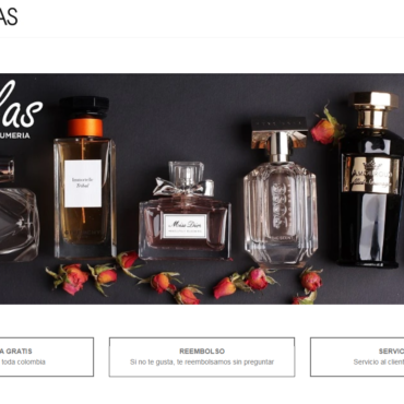 online Shopping website encyclopedia of perfumes